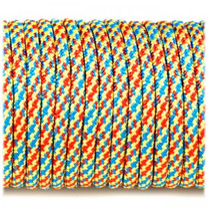 Paracord Type III 550, fireworks #360